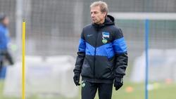 Jürgen Klinsmann trifft mit Hertha auf den FC Bayern München