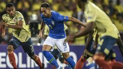 Cunha (m.) traf für Brasilien zum Ausgleich