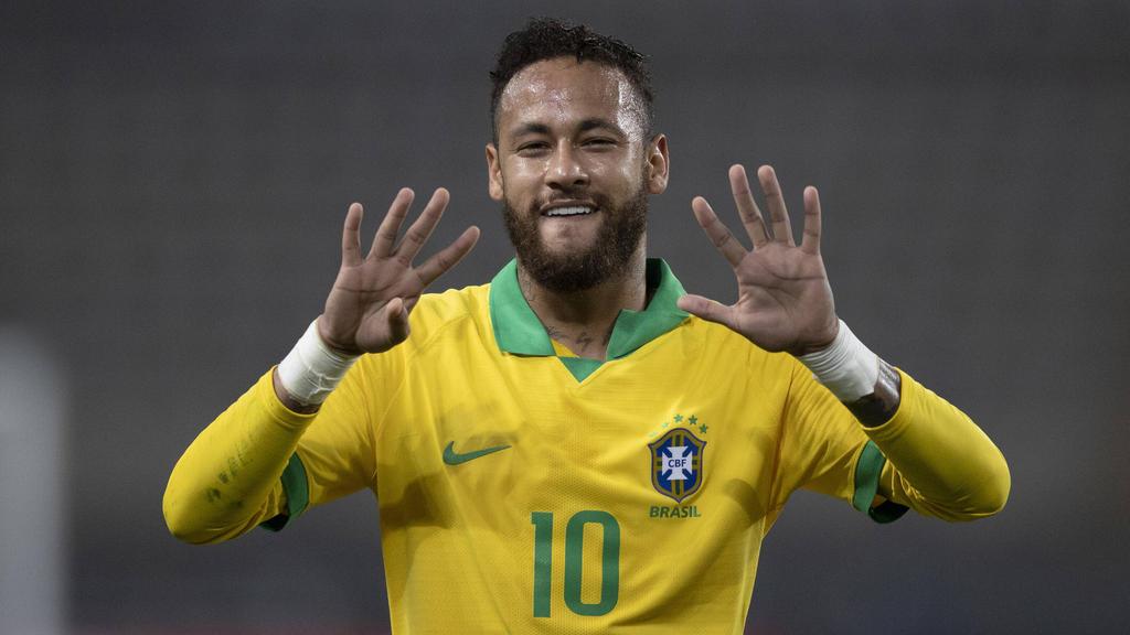 Neymar steht trotz eines Dreierpacks in der Kritik