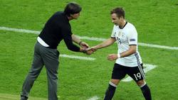 Joachim Löw findet lobende Worte für Mario Götze