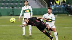 Kein Durchkommen für Karim Benzema