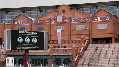 Aston Villa schließt vorerst seine Tore