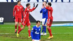 Thomas Müller überragte beim 4:0-Sieg des FC Bayern gegen Schalke 04