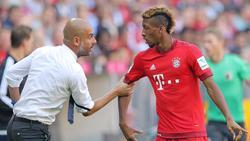 Kingsley Coman spielte in der Saison 2015/2016 unter Pep Guardiola beim FC Bayern
