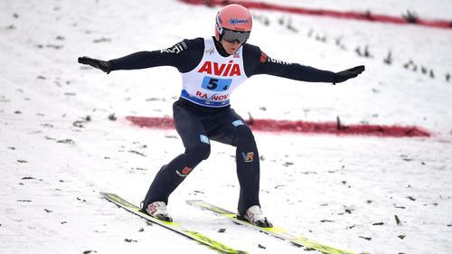 Karl Geiger hat WM-Silber gewonnen