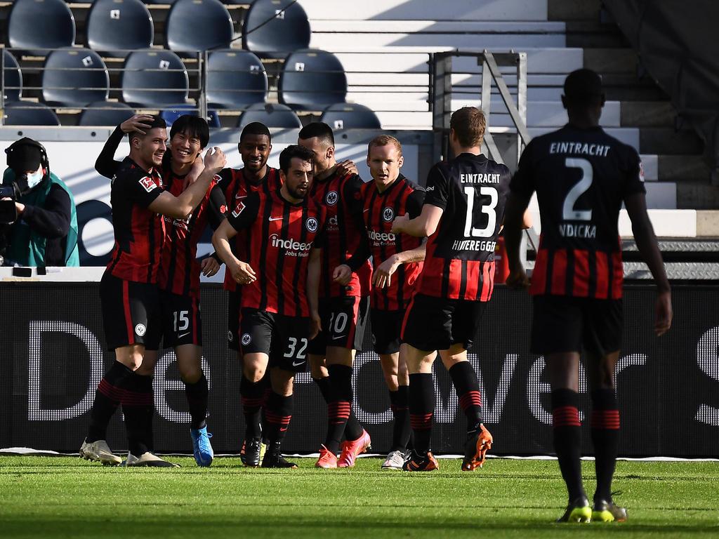 Eintracht Frankfurt setzt seine ungeschlagene Serie fort