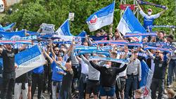 Hansa-Fans haben für Aufregung gesorgt