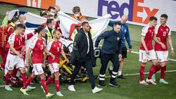 Christian Eriksen war im Spiel gegen Finnland zusammengebrochen