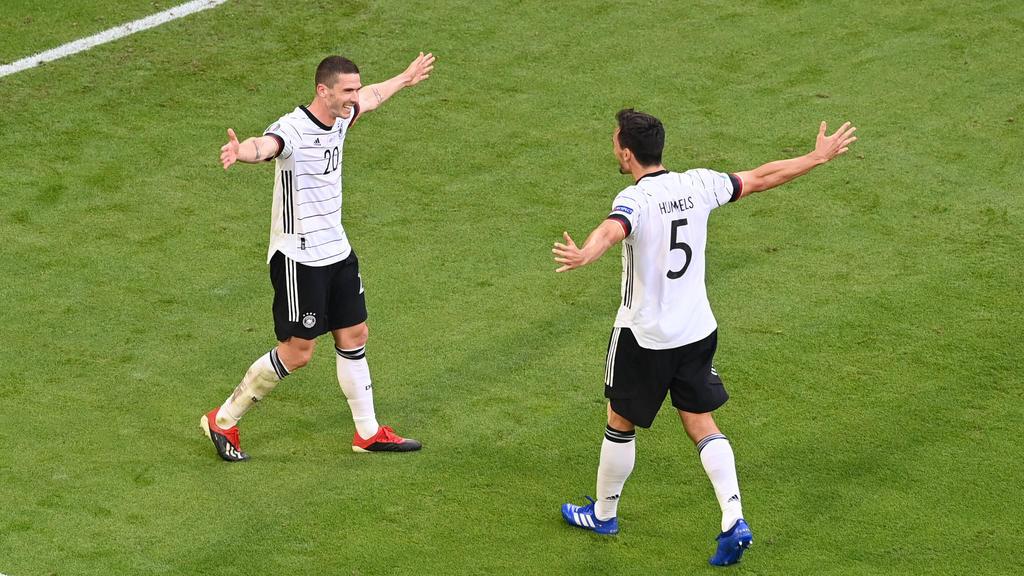 Los germanos supieron reponerse del gol inicial de CR7.