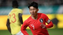 Heung-Min Son steht nicht in Südkoreas Olympia-Kader