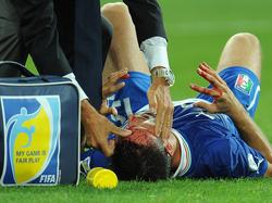 Florenz-Kapitän Pasqual verletzte sich bei der Nationalmannschaft schwer