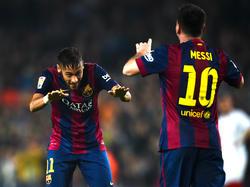 Neymar y Messi son las dos principales apuestas ofensivas del actual líder de Primera División. (Foto: Getty)