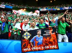 """El """"Will Grigg's on fire"""" se ha convertido en el himno inoficial del torneo. (Foto: Getty)"""