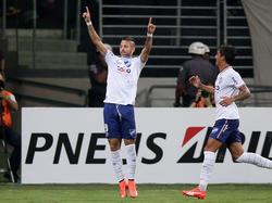 Nico López celebrando un gol con el Nacional. (Foto: Getty)
