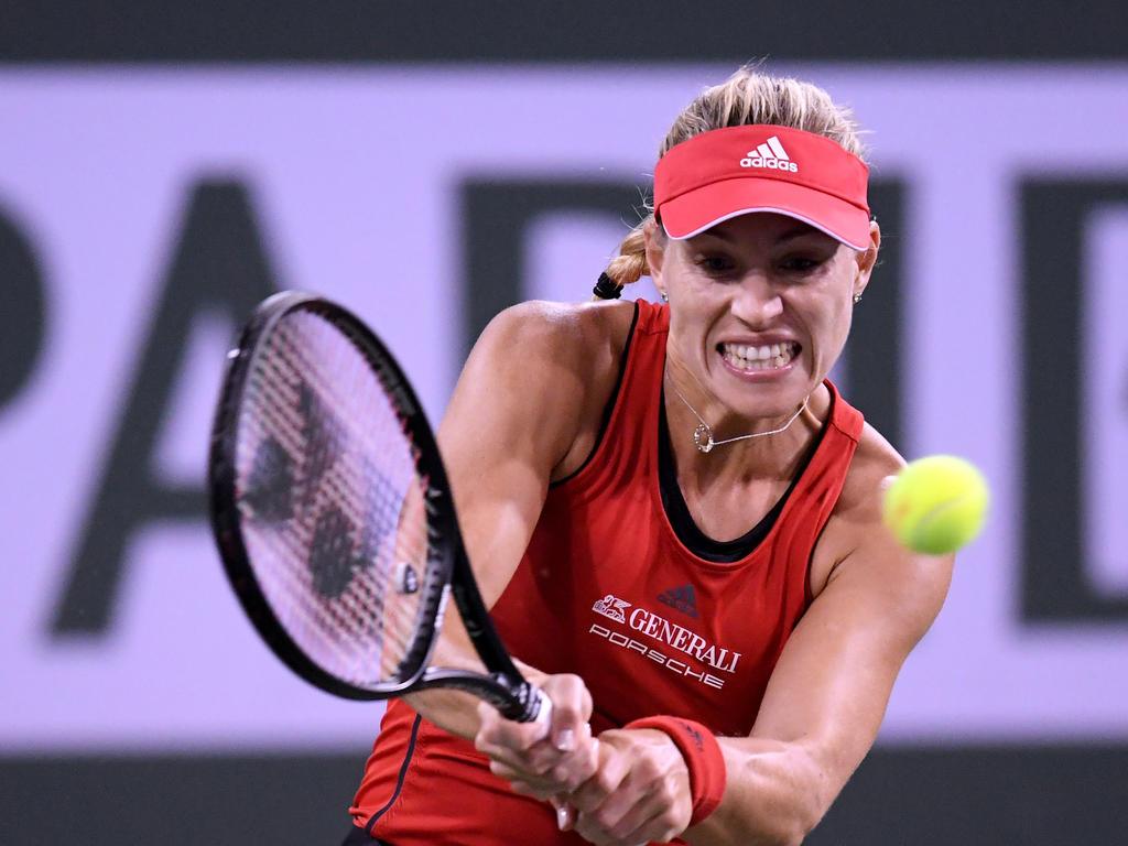 Angelique Kerber scheiterte im Viertelfinale der BNP Paribas Open