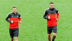 Zlatan Ibrahimovic und David Beckham spielten gemeinsam für PSG