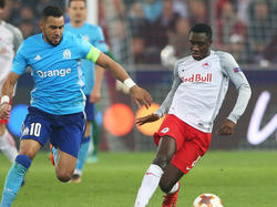 Diadié Samassékou im vergangenen Europa-League-Frühjahr gegen Olympique Marseille