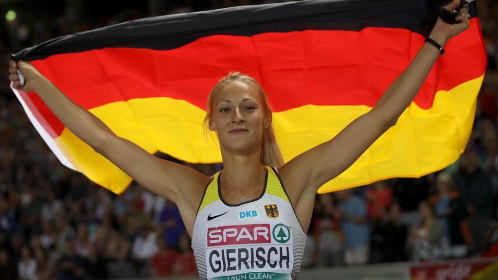 Kristin Gierisch ist neue Vize-Europameisterin