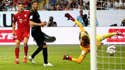 FC Bayern München überrollt Eintracht Frankfurt im Supercup