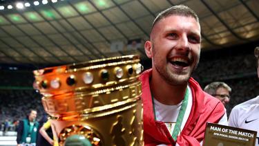 Ante Rebic schoss Eintracht Frankfurt zum Sieg im DFB-Pokal