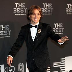 Luka Modrid fue el gran favorito al Premio al Mejor Jugador. (Foto: Getty)