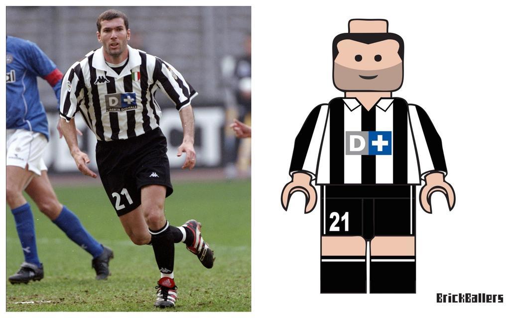 Diashow Zidane Und Co Fussball Ikonen Im Lego Format
