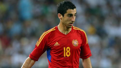 Henrikh Mkhitaryan verlor mit Armenien gegen Gibraltar