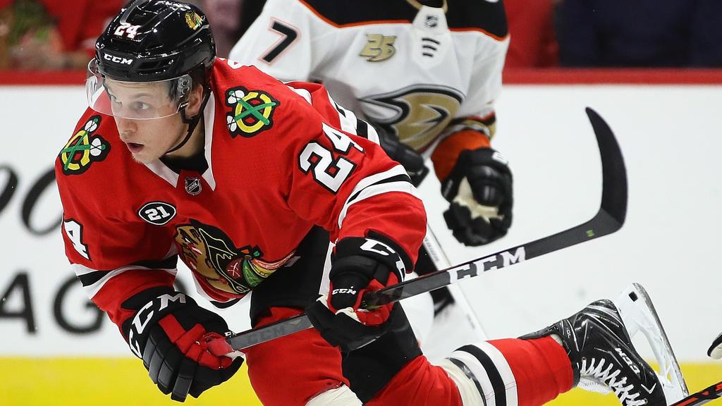 Dominik Kahun hat in der NHL noch seine Probleme mit der kleineren Eisfläche