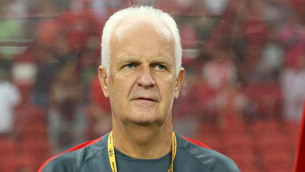 Bernd Stange trainierte von 1991 bis 1992 Hertha BSC