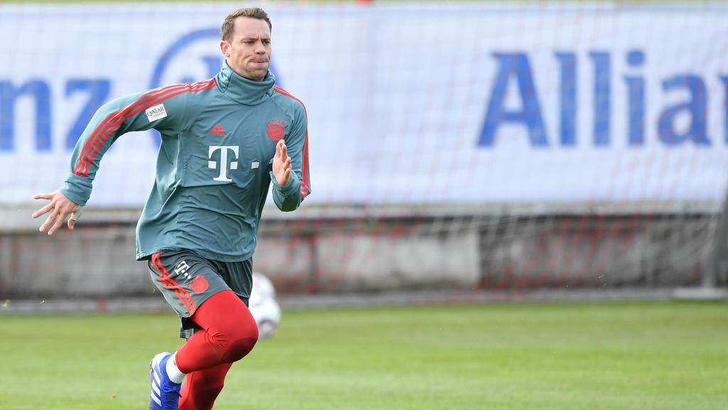 Manuel Neuer ist sicher, dass er gegen den FC Liverpool wieder zwischen den Pfosten steht