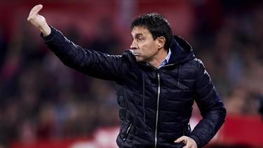 Asier Garitano wird Cheftrainer bei Deportivo Alavés