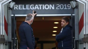 Urs Fischer sieht den 1. FCUnion trotz der guten Ausgangslage für das Relegations-Rückspiel als Außenseiter