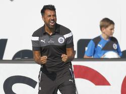 Trainer Ismail Atalan glaubt an die Pokal-Chance der Sportfreunde Lotte