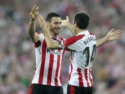 Aduriz acudió al rescate del Athletic por enésima vez. (Foto: Imago)