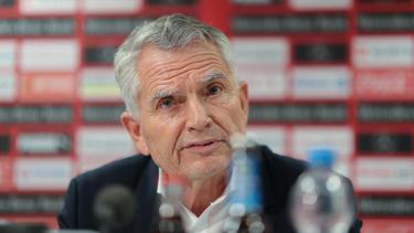 Wolfgang Dietrich ist als Präsident des VfB Stuttgart zurückgetreten