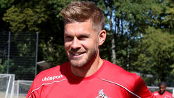 Simon Terodde möchte mit dem 1. FC Köln die Klasse halten