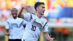 Luca Waldschmidt gehört erstmals zum DFB-Team