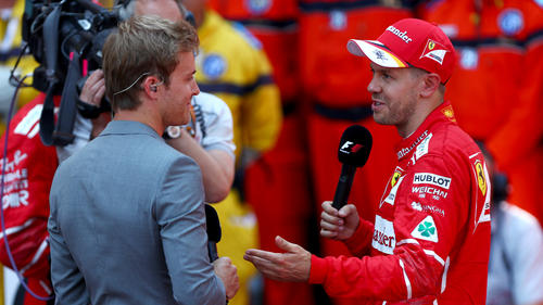 Sitzt Rosberg bald in Vettels Ferrari? Wohl kaum ...