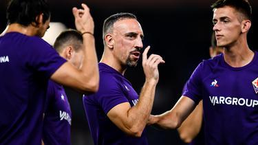 Franck Ribéry spielt mittlerweile bei AC Florenz