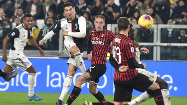 Cristiano Ronaldo wurde kurz nach der Pause ausgewechselt