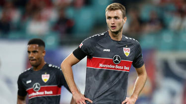 VfB-Star Sasa Kalajdzic verletzte sich im Spiel gegen RB Leipzig schwer an der Schulter