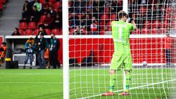 Lukas Hradecky patzte im DFB-Pokal