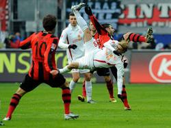 Mehr Tanzperformance als Fußball
