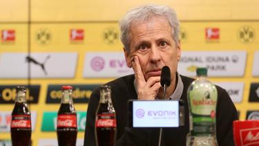 Lucien Favre konnte mit dem BVB noch nie in Frankfurt gewinnen