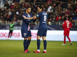 Brasileño y uruguayo abandonan el equipo parisino.