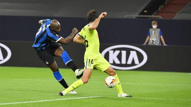 Romelu Lukaku erzielte den Führungstreffer gegen Getafe