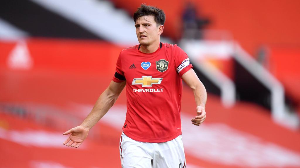 Harry Maguire wechselte von Leicester City zu Manchester United