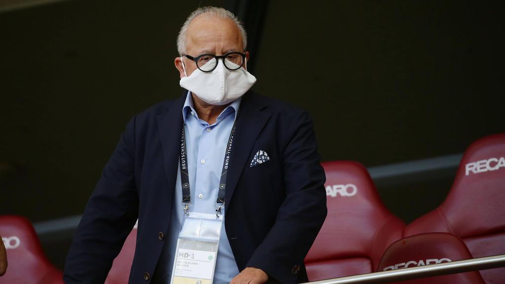 Fritz Keller hat als DFB-Präsident alle Hände voll zu tun
