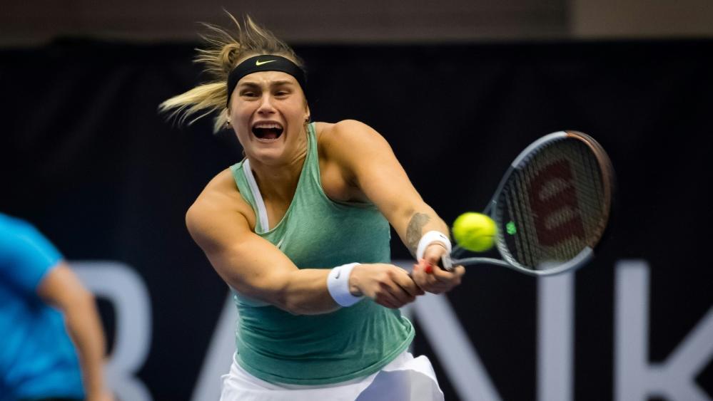 Aryna Sabalenka holte den siebten Turniersieg ihrer Karriere