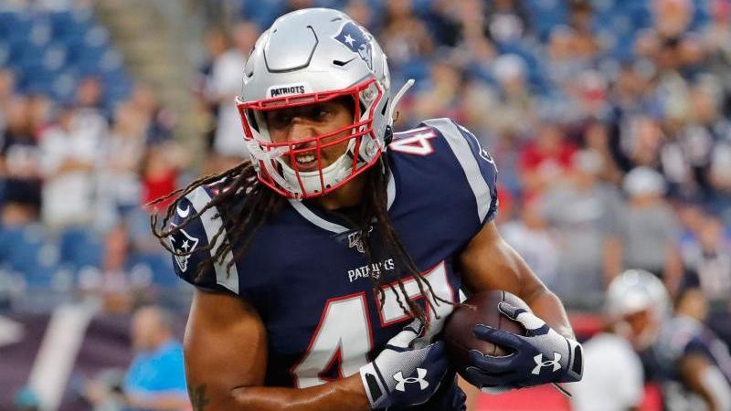 Jakob Johnson spielt in der NFL für die New England Patriots